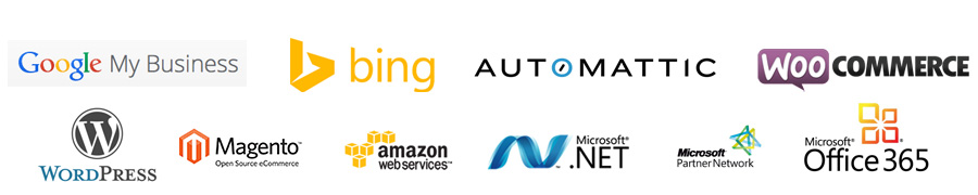 Our Web Technology Partners