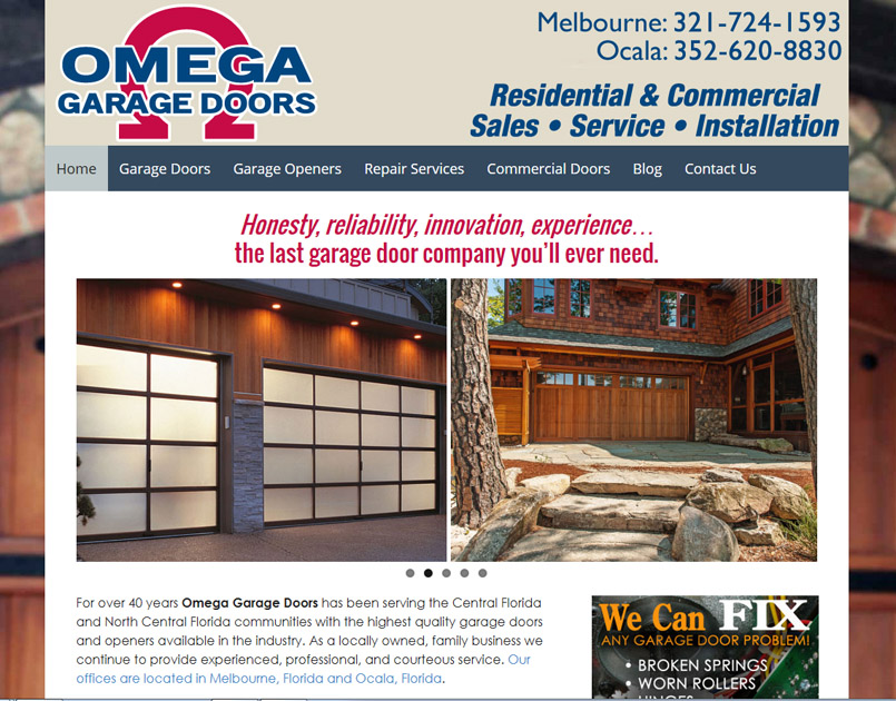 Omega Garage Doors of Mid-Florida, Inc.