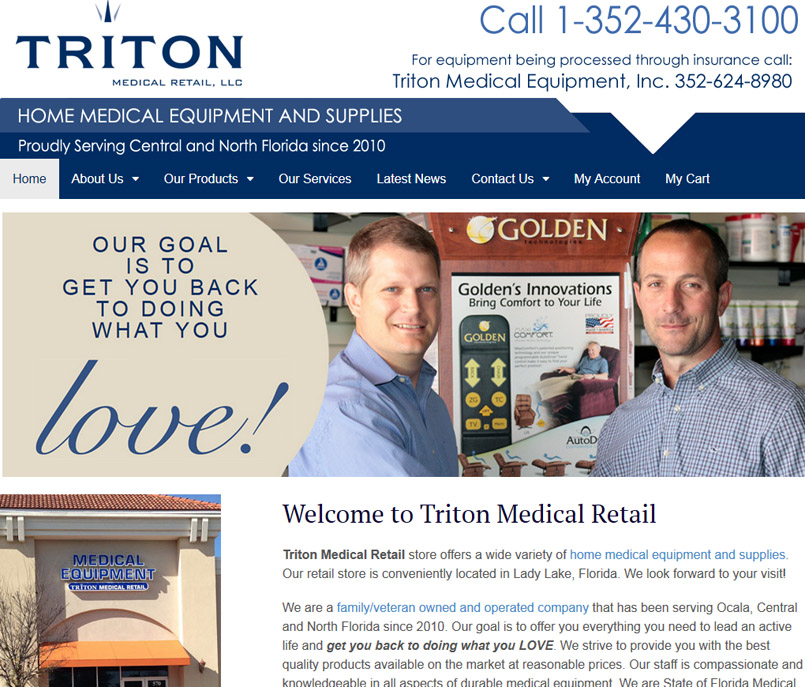 Triton Medical Retail, Inc.
