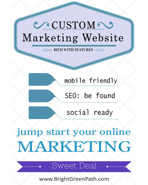 Marketing-ready Custom Business Website