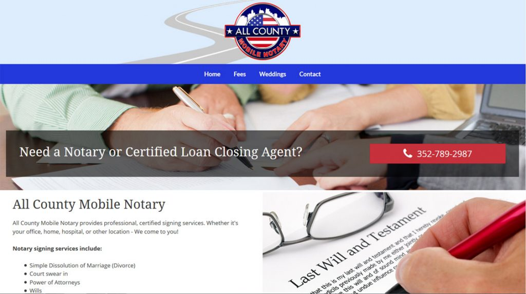 All County Mobile Notary, Ocala, FL