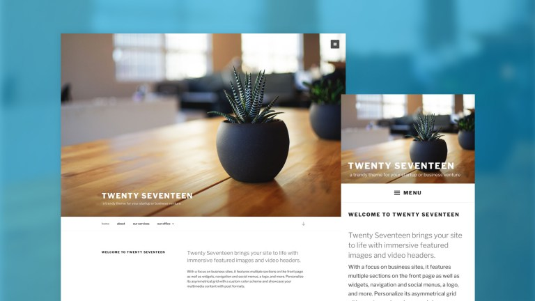 WordPress 4.7 Released with new theme Twenty Seventeen