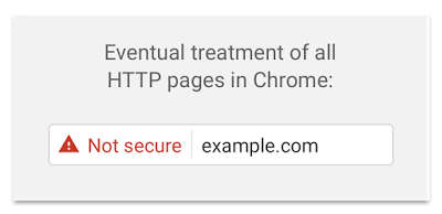 Eventually, Chrome will show a Not Secure warning for all pages served over HTTP, regardless of whether or not the page contains sensitive input fields.