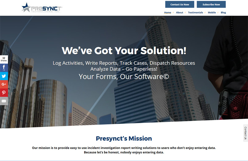 Presynct Technologies, Inc.