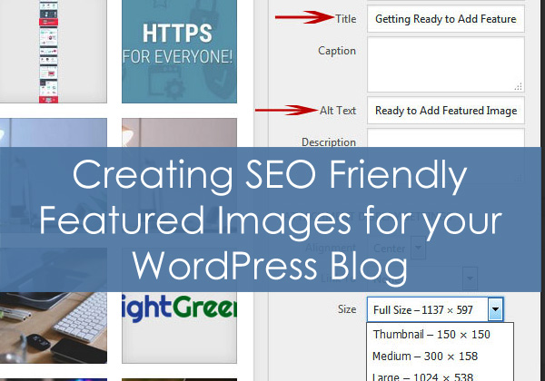 Creating SEO Friendly Featured Images for your WordPress Blog