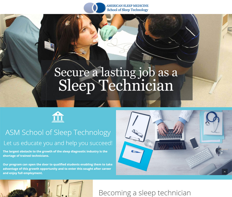 ASM School of Sleep Technology
