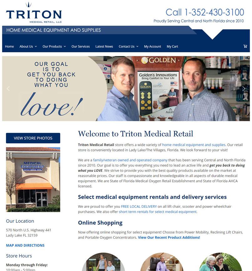 Triton Medical Retail, Inc.