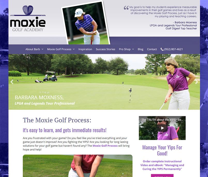 Moxie Golf Academy - Barbara Moxness, LPGA Professional