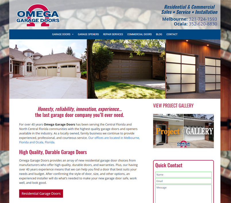 Omega Garage Doors of Mid-Florida, Inc.