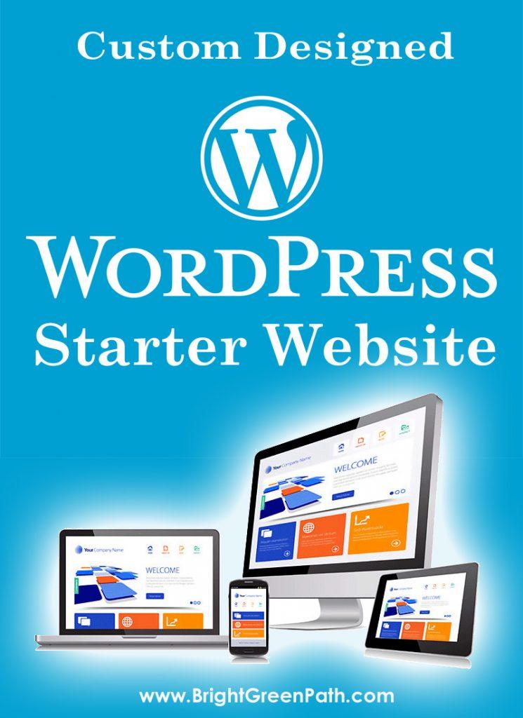 Florida Custom WordPress Web Design Starter Package