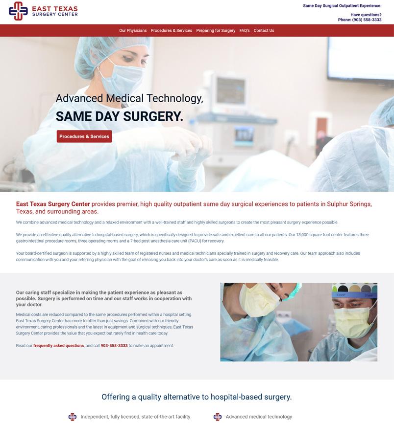 East Texas Surgery Center - Sulphur Springs, TX