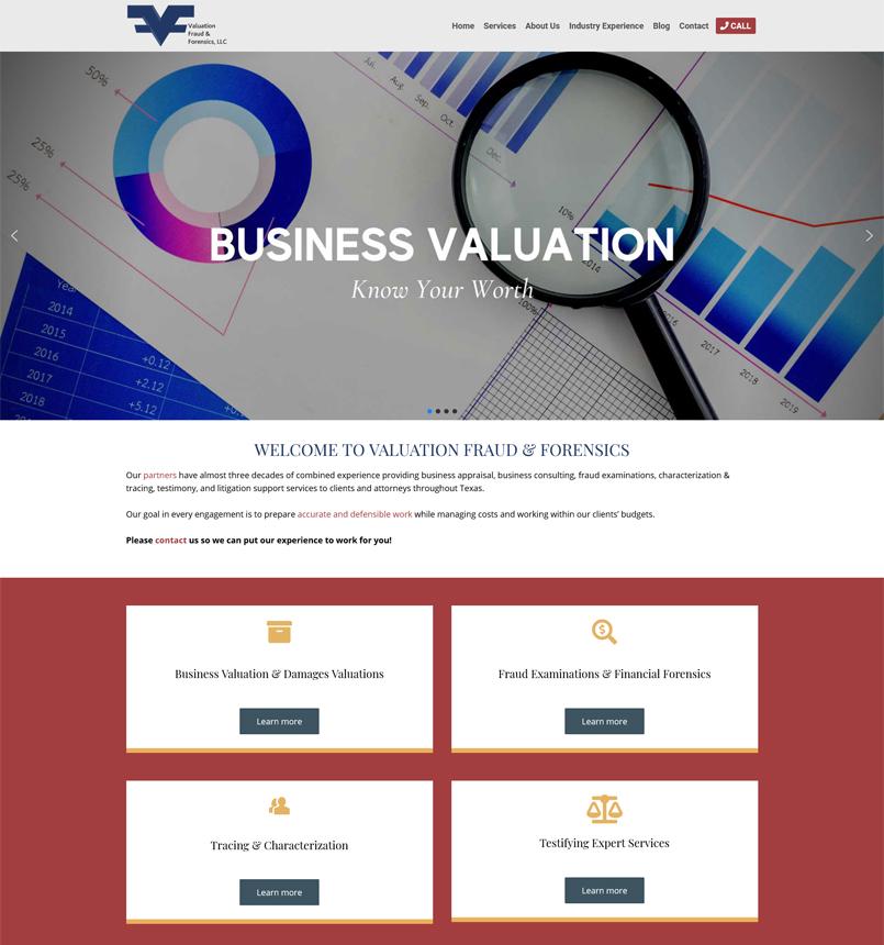 Valuation Fraud & Forensics